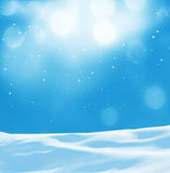 Winter background stock image