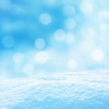 Winter background. Beautiful winter background with snow Royalty Free Stock Photo