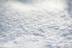 Winter background. With beautiful various snowflakes Royalty Free Stock Images
