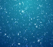 Winter background, blizzards Royalty Free Stock Image