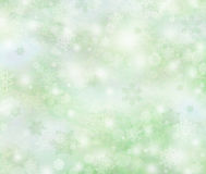Winter background, bright bokeh background Royalty Free Stock Photography