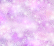 Winter background, bright bokeh background Royalty Free Stock Images