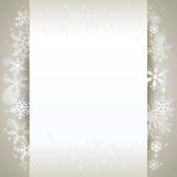 Winter background card Royalty Free Stock Photography