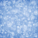 Winter background Christmas abstract bokeh Stock Photography