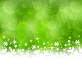 Winter background with a Christmas theme Royalty Free Stock Photos