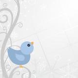 Winter background design Stock Photo
