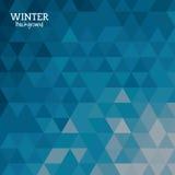 Winter background design Stock Image