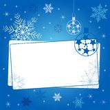 Winter background with different snowflakes 2015. Label for your text. Winter background with different snowflakes 2015.  Label for your text. Vector Stock Photography
