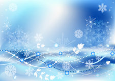 Winter  background. EPS10. Stock Photography