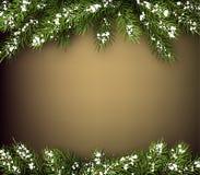 Winter background Stock Image