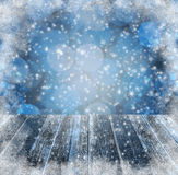 Winter background Graphics winter snow frost project sspace text Stock Photos