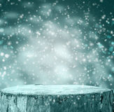 Winter background Graphics winter snow frost projectsspace text Royalty Free Stock Photography
