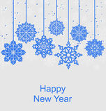 Winter Background for Happy New Year Royalty Free Stock Photo
