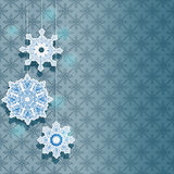 Winter background for holiday design Royalty Free Stock Images