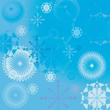 Winter background illustration Royalty Free Stock Photos