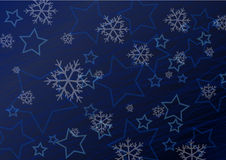 Winter background illustration Stock Photos