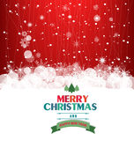 Winter Background. Merry christmas background and happy new year with snowflakes Stock Photos
