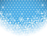 Winter background with place for your text. Stock Image