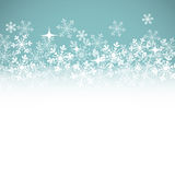 Winter background with place for your text. Royalty Free Stock Image