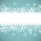 Winter background with place for your text. Stock Images