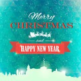 Winter background polygonal. Winter background new year and christmas Royalty Free Stock Images
