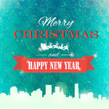 Winter background polygonal. Winter background new year and christmas Stock Image