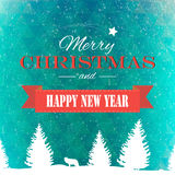 Winter background polygonal. Winter background new year and christmas Stock Images