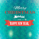 Winter background polygonal. Winter background new year and christmas Stock Photo