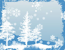 Winter background series Stock Photography