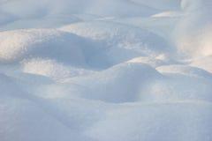 Winter background of shiny white snow Royalty Free Stock Image
