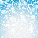 Winter background with snow Stock Photo