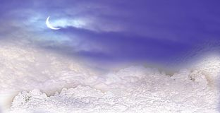 Winter background. Snow in the mountains. royalty free stock images