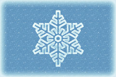 Winter background with snowflake stock photos