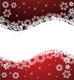 Winter background with snowflakes Royalty Free Stock Images