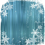Winter background, snowflakes Royalty Free Stock Images