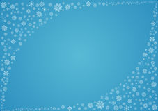 Winter background with snowflakes. Blue winter background with snowflakes.This image is available in EPS8 vector format vector illustration