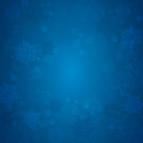 Winter Background with  snowflakes Royalty Free Stock Photo