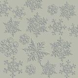 Winter background, snowflakes - illustration bitmap Stock Photos