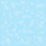 Winter background with snowflakes Royalty Free Stock Photos