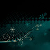 Winter background with space for text Royalty Free Stock Photos