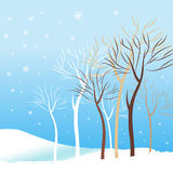 winter background vector Stock Photos