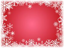 Winter background. [Vector] Royalty Free Stock Photos