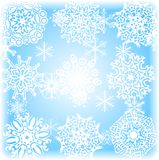 Winter background. [Vector] Royalty Free Stock Photography