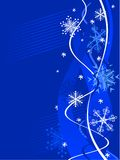 Winter background. [Vector] Royalty Free Stock Image