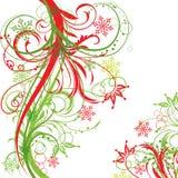 Winter background, vector Stock Image