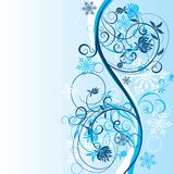 Winter background, vector Royalty Free Stock Image