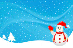 Winter background vector Royalty Free Stock Photo