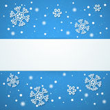 Winter background. Vector illustration. This is file of EPS10 format Stock Photography