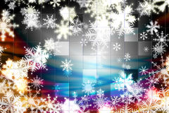 Winter background for your design Stock Image