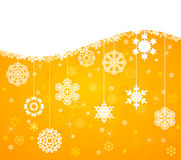Winter background4 Royalty Free Stock Image